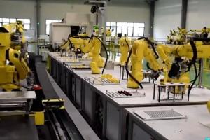 工业机器人应用视频展示