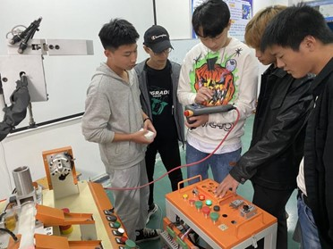 2020年10月《ABB工业机器人装调与维护》教学进展通报